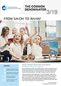 Download the July 2019 issue of The Common Denominator, a quarterly magazine for mathematics educators by the Mathematical Association of Victoria. It provides information and articles about the MAV and its activities, and maths education in general.