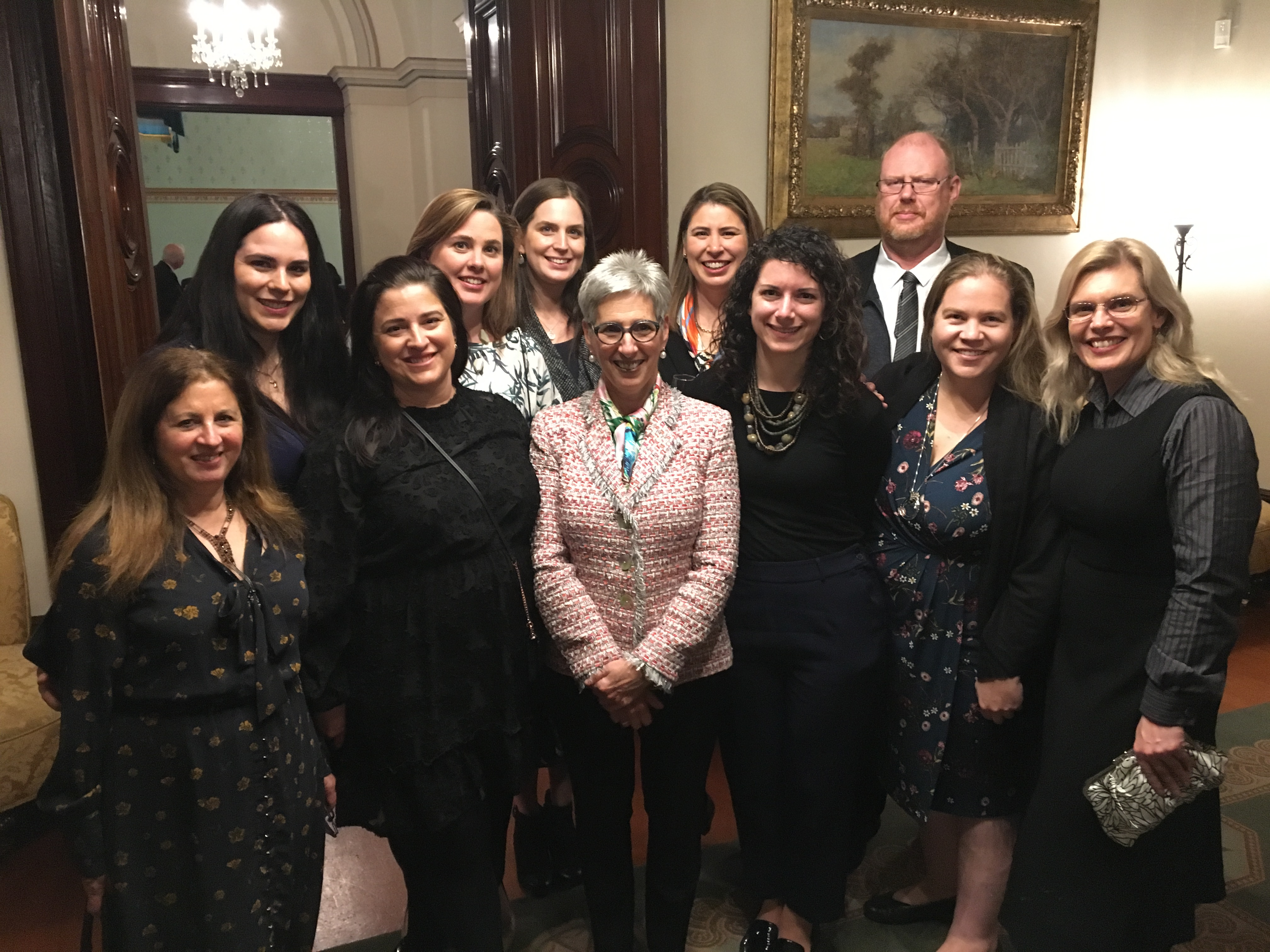 The Honourable Linda Dessau AC Governor of Victoria with MAV staff and Directors