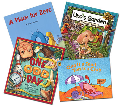 Picture books in mathematics examine big ideas through imaginative story-telling.